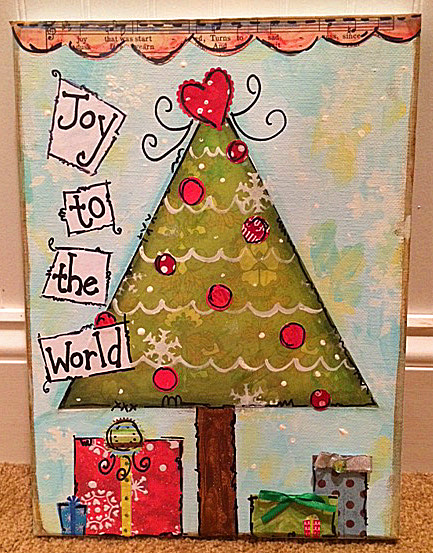 Christmas Owl or Tree- Fun for all ages! - Maureen Marks Art
